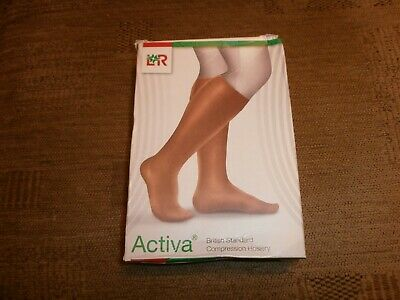 Activa Compression hosiery X 3 boxes Sand Size L.