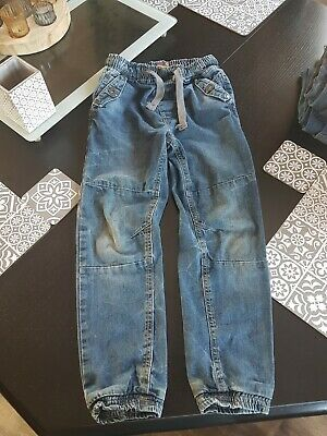 Next Boys Age 9 Demin Blue Jeans