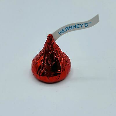 Vintage Hallmark 1989 Red Hershey's Kiss Candy Pin Brooch, HFC