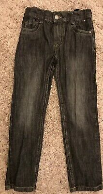 Black  Denim Straight Jeans Age 6-7 Years