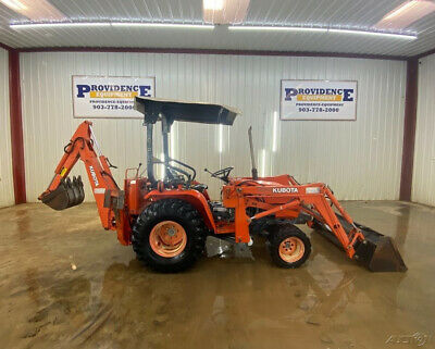 Kubota B20 Orops Hst Tractor With 4Wd!