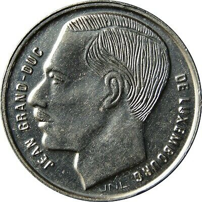 Luxembourg 1 One Franc Jean 1988-1995 Coin 1990 Year