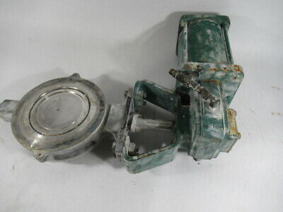 """Fisher Controls Co 8550-1066 Valve Actuator Size 6"""" Max Temp 375F USED"""