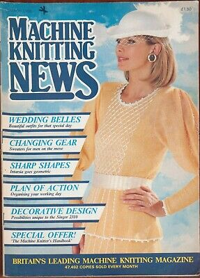 Baby Collection Machine Knitting News 1988 no.1 baby collection
