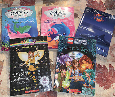 Lot of 5 Chapter Books for GIRLS Youth Early Reader Young Adult Children RANDOM