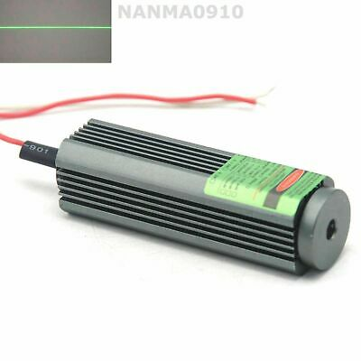 532nm 50mw 25*75mm Laser Diode Module Line Green Light Lasers with cable