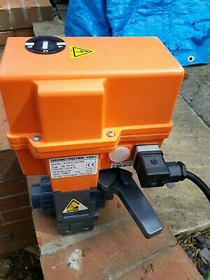 Georg Fischer EA20 115V 230V Actuator with manual override lever