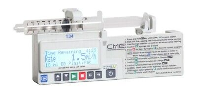 VERSION 3 CME McKINLEY T34 SYRINGE DRIVER AND ACCESSORIES