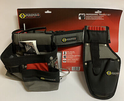 CK Magma Builders Electrician Toolbelt Drill Holster Tool Pouch MA2735