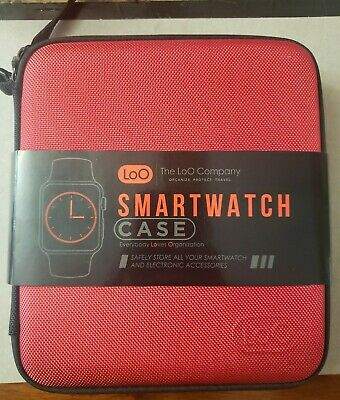 LoO Smart Watch Bands Case - (Apple, Fitbit, Huawei Holds 12 Apple Watch Bands)
