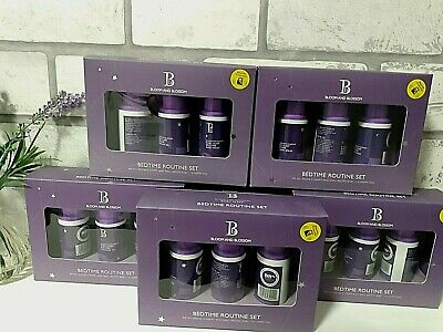 5 x boxes of Bloom and Blossom Baby Sleep Bedtime Routine Set  NEW