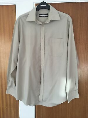Mens 15 Inch Next Shirt Easy Iron