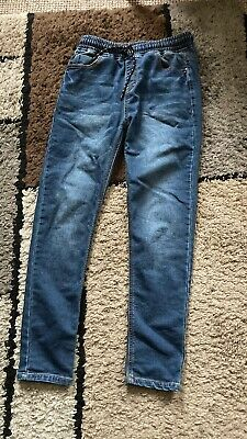 Next Jeans boy 12 Years Blue Trousers (Destressed Look)Good condition