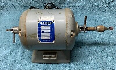 Baldor Bench Lathe, Used & Works Perfectly.  1/6 HP