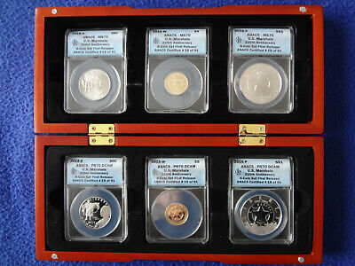 US Marshall 225th Anniversary Gold & Silver Coin Set First Release