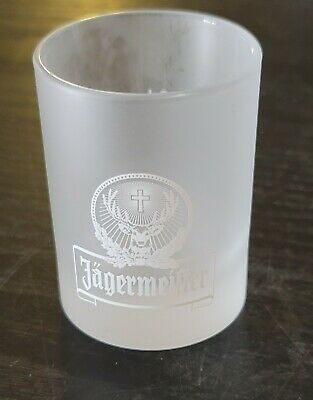 Jagermeister White Frosted Shot Glasses