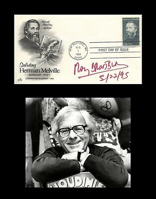 RAY BRADBURY Autographed Signed First Day Cover FDC