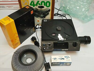 Kodak 4600 Projector W SlideTray & Remote Excellent WorksGreat$140 Free Shipping