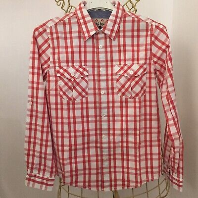 Boys  FAT FACE Check Shirt * 12-13 Years Old * BNWT