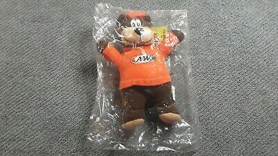 "Vintage 2001 A&W ""Great Root Bear"" Plush Stuffed Animal - New Unopened Package"