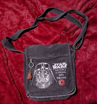 Star Wars Bag Darth Vader with Lego Chewbacca keyring