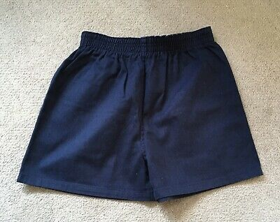 NEW Child's Navy Blue Sports Shorts, Size 24/26""