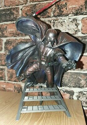 "Star Wars Darth Vader Unleashed Sculpture 2005 Approx 10"" Tall"