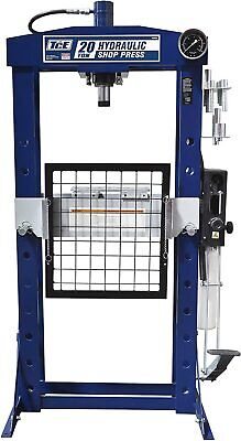 40000lbSteel H-Frame Hydraulic Garage/Shop Floor Press withHandandFoot PumpPedal