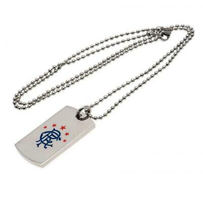 Rangers Gifts - Colour Crest Dog Tag & Chain