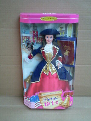Barbie Patriot Liberty History American Stories Collector Doll 1996 Mattel NRFB
