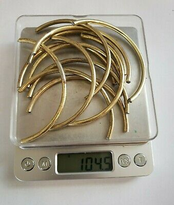 Jewelry Scrap Lot, Reverse Electrolysis Gold Recovery Lot (104.5 Grams) As Shown