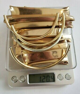 Reverse Electrolysis Gold Recovery Scrap Lot.(120.4 Grams) Gold Plated Jewelry!!