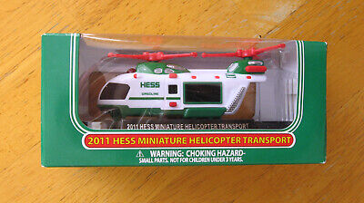 Hess Mini 2011 Miniature Helicopter Transport NEW