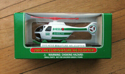 Hess MIni 2005 Miniture Helicopter NEW