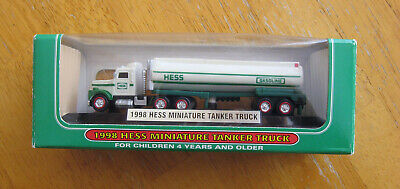 Hess 1998 Mini Tanker Truck The First Mini Truck in Collection NEW