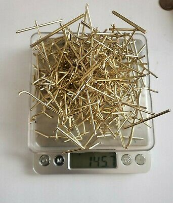 Reverse Electrolysis Gold Recovery Scrap Lot.(145.7 Grams) Gold Plated Jewelry!!