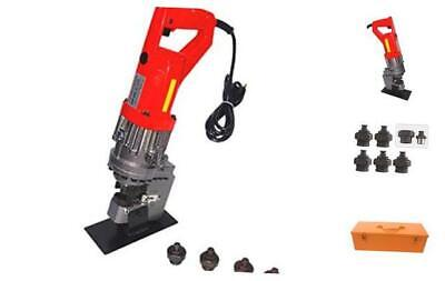 """CCTI Electric Hydraulic Hole Puncher - Punching Thickness Up to 1/4""""(6 mm) in Mi"""