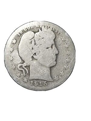 1915 Barber Quater Collectable coin