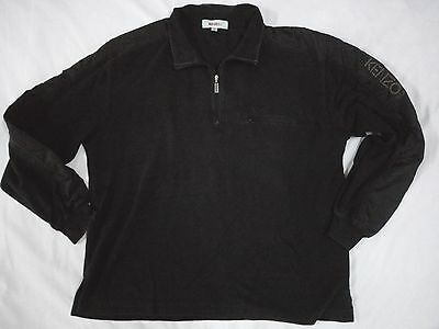 Kenzo Golf Polo Sweatshirt Half Zipper Long Sleeve Japan