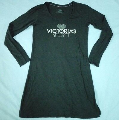 VICTORIA'S SECRET LONG SLEEVE T SHIRT Bouse Girl Women Small Poly Cotton