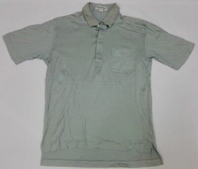 Vintage BURBERRY Burberrys' Polo Shirt T M Turpan Cotton Monogram Nova Check