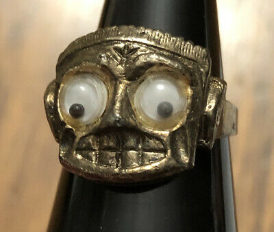 *RARE* Vintage Cleinman & Sons Monster 1960s Adjustable Ring