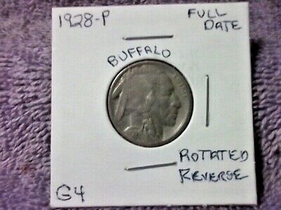1928 Philadelphia Buffalo Nickel In Good Condition With A Full Date