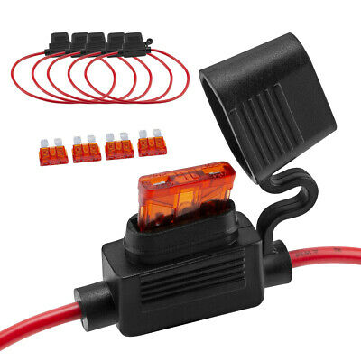 5 AMP// 12 Pack ATC Pigtail Accele Electronics Fuse