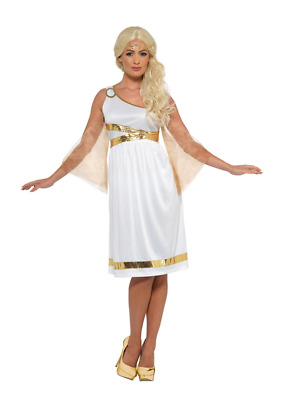Middle Ages Greek Women Dress Costume Gown Ancient Greek Goddess Carnival