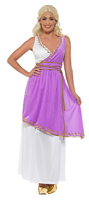 Greek Goddess Women Dress Costume Gown Ancient Greek Middle Ages Carnival