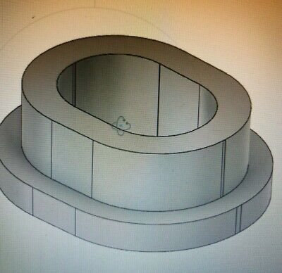Aluminium slotted spacers to your sizes CNC CAD CAM Custom Bespoke LOOK!!!
