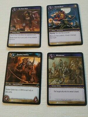200 World of Warcraft TCG CARD LOT Collection WoW TCG *Free Shipping*