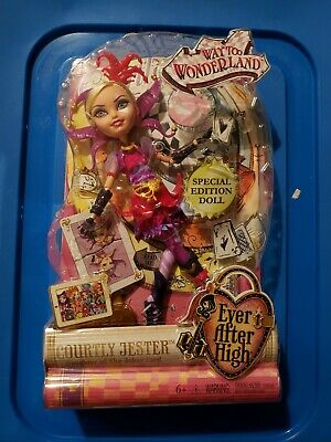 EVER AFTER HIGH Way Too Wonderland COURTLY JESTER Doll DHD78 Special Edition