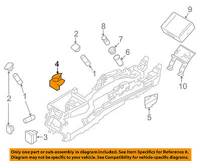 FORD OEM 17-18 Fusion CONSOLE-Parking Brake Switch GR2Z2B623BA